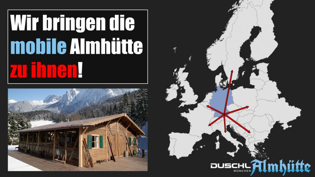 Duschl Mobile Almhütte 2018 landkarte