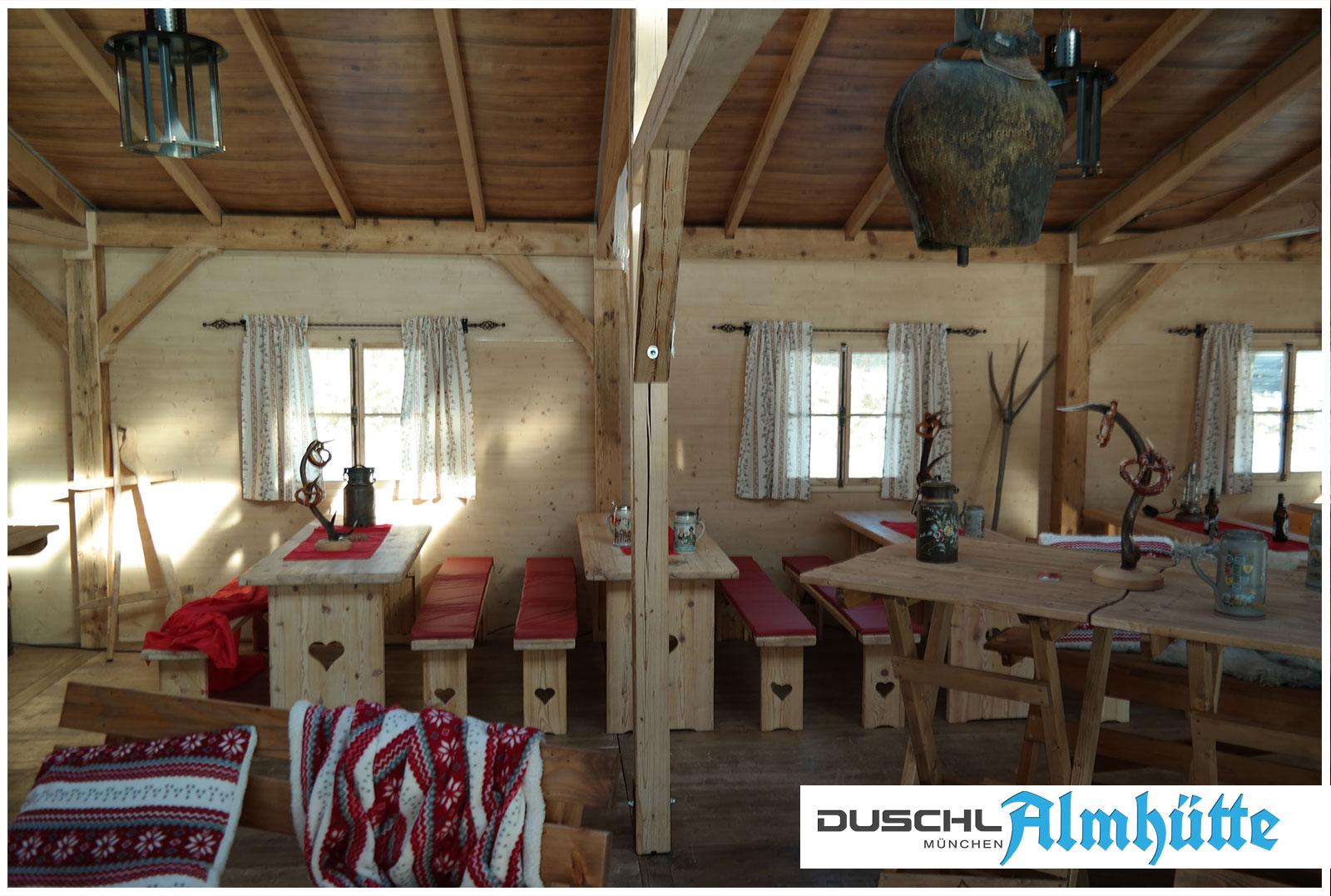 Almhütten Ausstattung - Innenausstattung und Dekoration