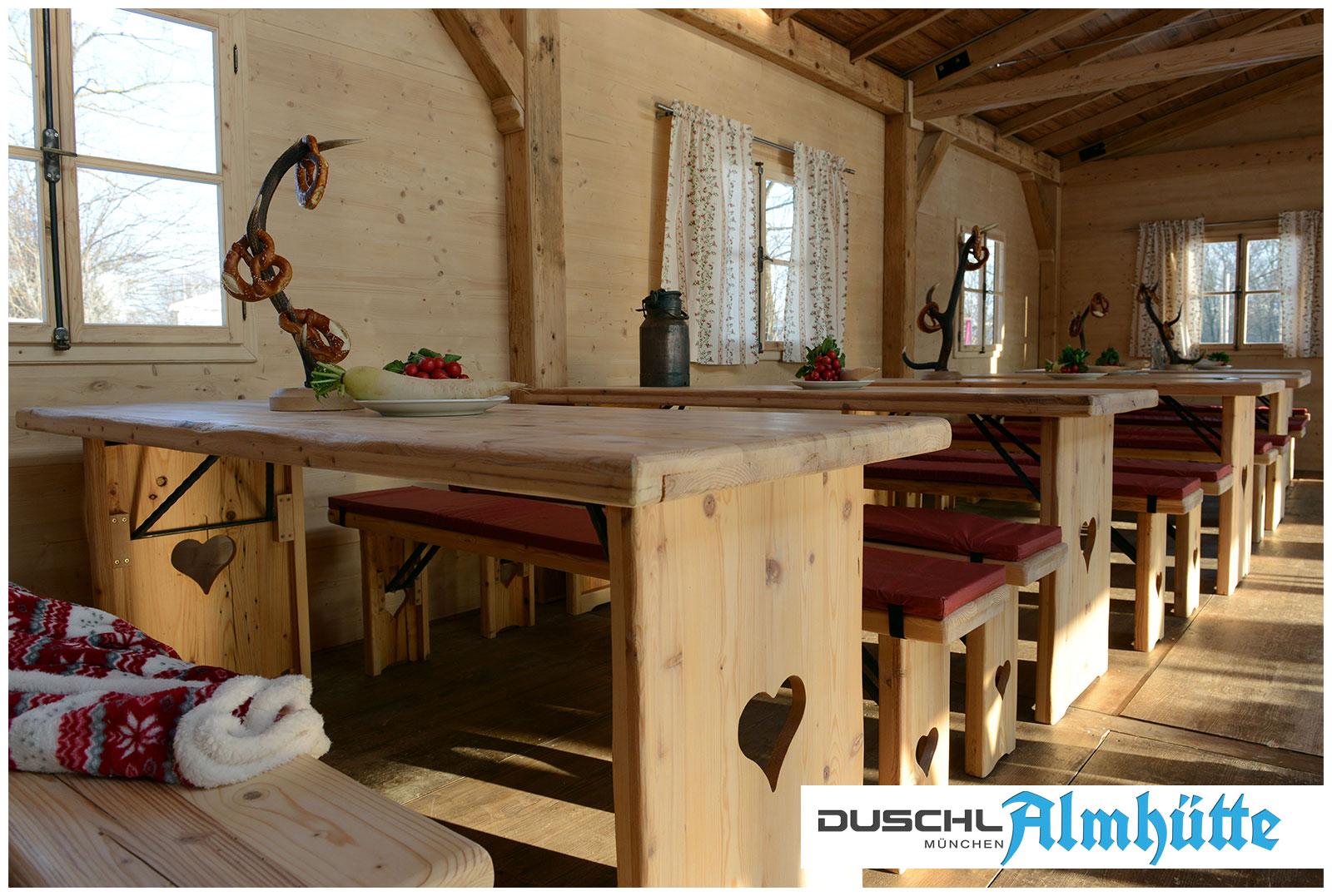 Mobile Almhütte - Edles Holz