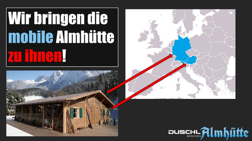 Duschl Mobile Almhütte 2017